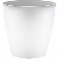 Корзина для мусора 8 л (снежно-белый) 240х241мм