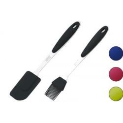 Кухонный набор, 2 пр., СЕЛИКОН, лопатка+кисточка