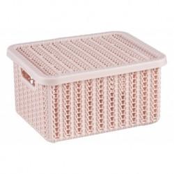 Коробка  ВЯЗАНИЕ 1,5л. с крышкой (175x150x85мм)