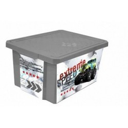 Детский ящик для хранения игрушек X-BOX Супер Трак 17л