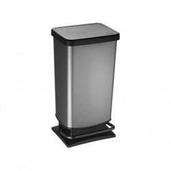 Контейнер для мусора педальный 40 л PASO