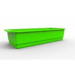 Ящик для рассады Flora 3,9л. 407,1х160,1х86мм (салатный)