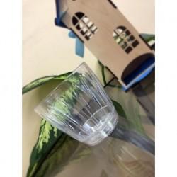 Горшок с пристегнутым поддоном Орхидея 1,5л d14,3см h13,3см