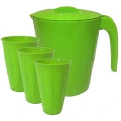 Набор кувшин Bono 1,9 л + стаканы 0,35 л (3 шт.)