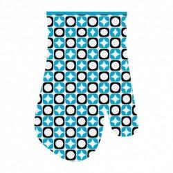 Прихватка-рукавица Звездочки 17*27см (голуб.) (упак. 12шт)
