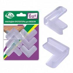 Накладки-протекторы для мебели 6шт. (упак. 12шт)