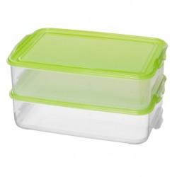 Комплект контейнеров для продуктов Fix&Mix 2 шт., 1,6л + 1,6л