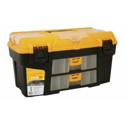 Ящик для инструментов со съемными коробками УРАН 21' ( 275x290x530мм)