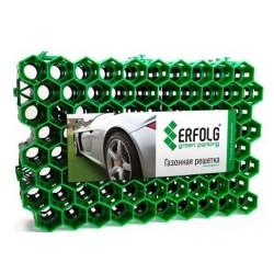 Покрытие ERFOLG Green Parking 400х600х40мм зеленый 1шт.