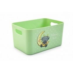 Корзина для детских игрушек Mommy love (чайное дерево) 228*158*121 мм