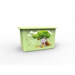 Контейнер для игрушек Mommy love (чайное дерево)