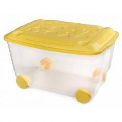 Ящик для игрушек на колесах 580х390х335мм