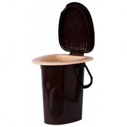 Ведро-туалет шоколадное