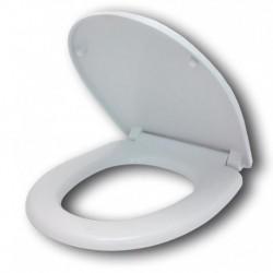Сиденье для унитаза пластик белый