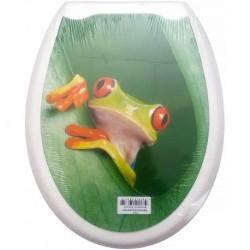 Сиденье для унитаза пластик ФОТОПРИНТ Лягушка