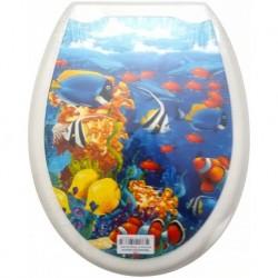 Сиденье для унитаза пластик ФОТОПРИНТ Морское дно