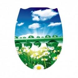 Сиденье для унитаза пластик ФОТОПРИНТ Утренняя роса (RUS)