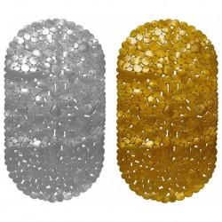 Коврик-SPA 69*39см КАМУШКИ С РАКУШКАМИ золото