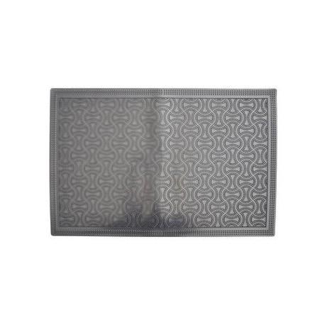 Коврик придверный Мозаика 60*38см черный