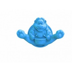 Крючок Circus Lion (голубая лагуна) 100,1*65,6*62,5 мм