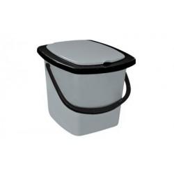 Ведро-туалет 16л черный