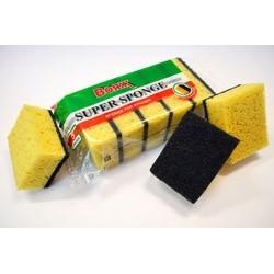 Губка для посуды Super sponge  5шт.  1/50/300  Вояж