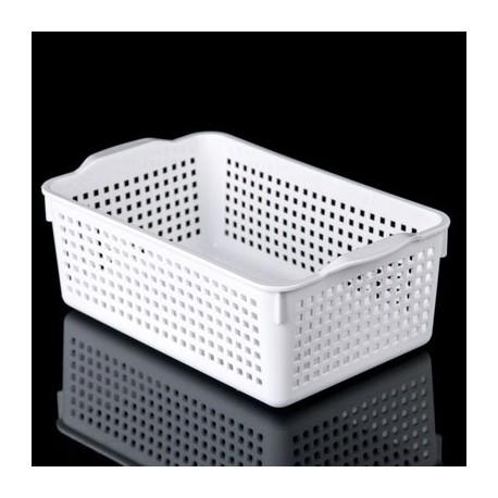 Корзинка Лофт 3,8л 295х185х105мм (белый)
