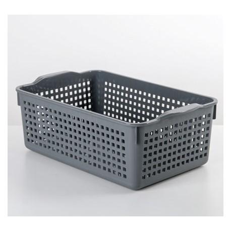 Корзинка Лофт 3,8л 295х185х105мм (серый)