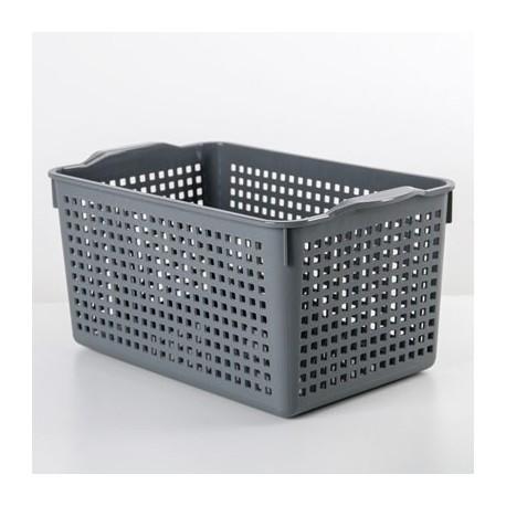 Корзинка Лофт 5,3л 295х185х145мм (серый)