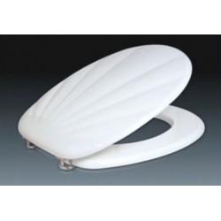Сиденье для унитаза ZALEL MDF белая ракушка