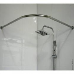 Карниз для ванной комнаты дуга хром Zalel 90*90 (блистер)