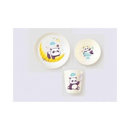 Набор детской посуды Panda