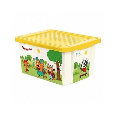 Детский ящик ТРИ КОТА Игры веселье, 17 л 405х305х210 мм