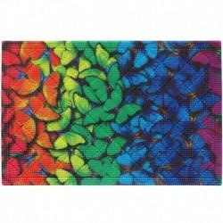 Коврик придверный грязезащитный Фотопринт Бабочки 40*60см