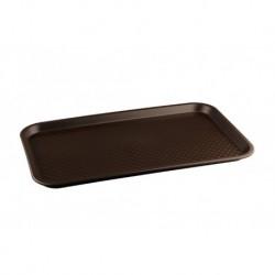 Поднос 525х325, коричневый