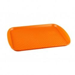 Поднос 450х350, оранжевый