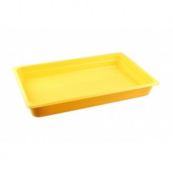 Гастроемкость 1/1, 530x325, h 65, желтый