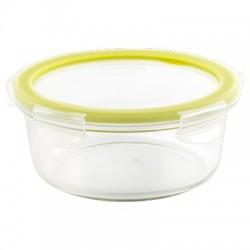 Контейнер герметичный из стекла Cristallo круглый 0,83л оливковая роща