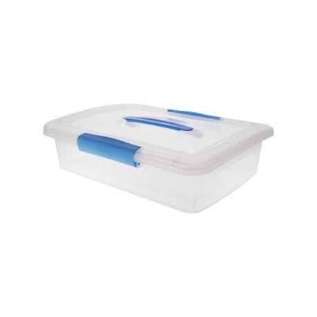 Ящик дляхранения Laconic с защелками и ручкой 5 л 370х270х95мм