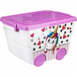 Ящик для игрушек ДЕКО 23л. (455x285x325мм)