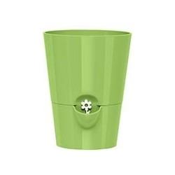 Кашпо FRESH HERBS d13, h17см с индикатором уровня воды зеленый (green) 1,7л