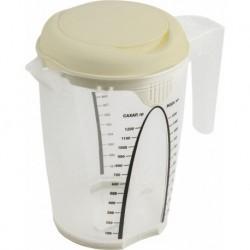 Емкость для блендера мерная STOCKHOLM 1,5л молочный