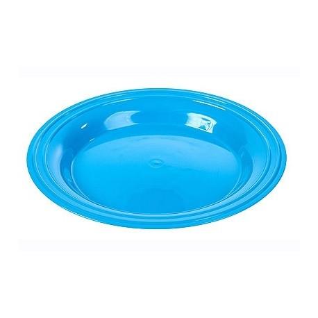 Тарелка Patio (голубая лагуна) 250х26мм