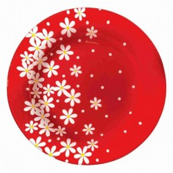 Тарелка десертная 200мм 1шт. RED GARDEN (D24561/C)