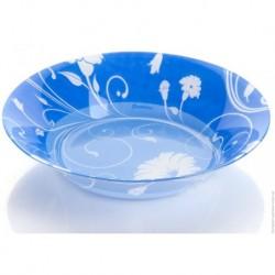 Тарелка суповая 220мм 1шт. SERENADE BLUE (D24312)