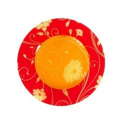Тарелка десертная 200мм 1шт. SERENADE ORANGE (D24310)