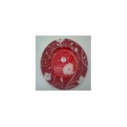 Тарелка десертная 200мм 1шт. SERENADE RED (D24396)