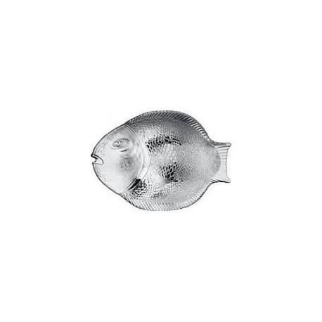 Тарелка 250х360мм 1шт. МАРИН (БЛЮ) рыба
