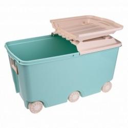 Ящик для игрушек на колесах 66,5л, 685х395х385мм