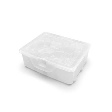 Органайзер для хранения мелочей с разделителями Fiori Orchid XS , 11х9,5х4,2 см